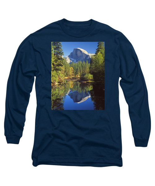 2m6709-half Dome Reflect - V Long Sleeve T-Shirt
