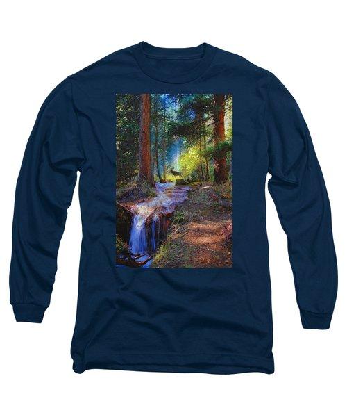 Hall Valley Moose Long Sleeve T-Shirt
