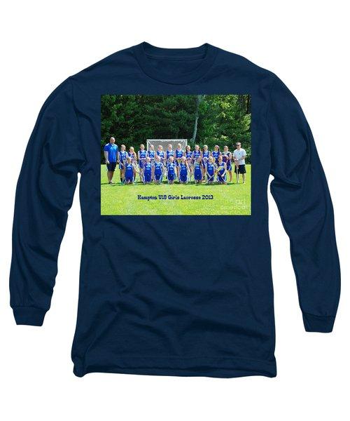 Hampton U15 Girls 2013 Long Sleeve T-Shirt
