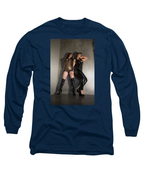 Long Sleeve T-Shirt featuring the photograph Hard And Soft by Mez