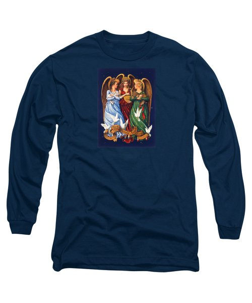 Hark The Herald Angels Sing Long Sleeve T-Shirt