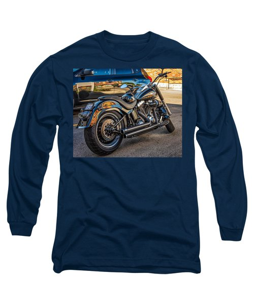 Harley Davidson Long Sleeve T-Shirt by Steve Harrington