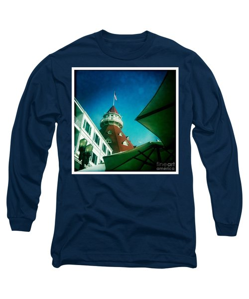 Haunted Hotel Del Long Sleeve T-Shirt