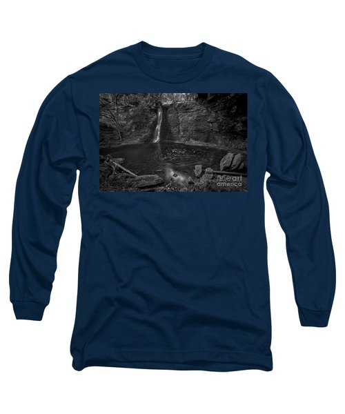 Hayden Swirls  Long Sleeve T-Shirt by James Dean