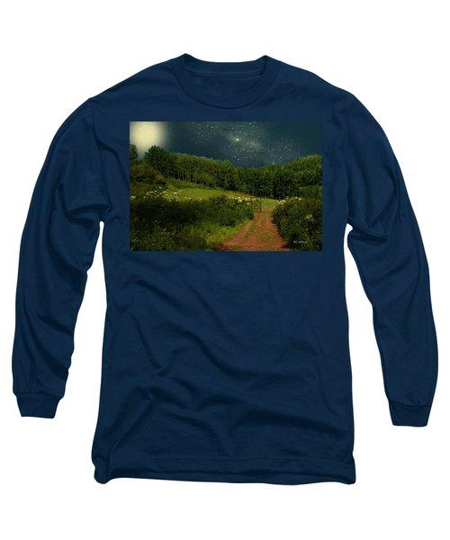 Hazy Moon Meadow Long Sleeve T-Shirt