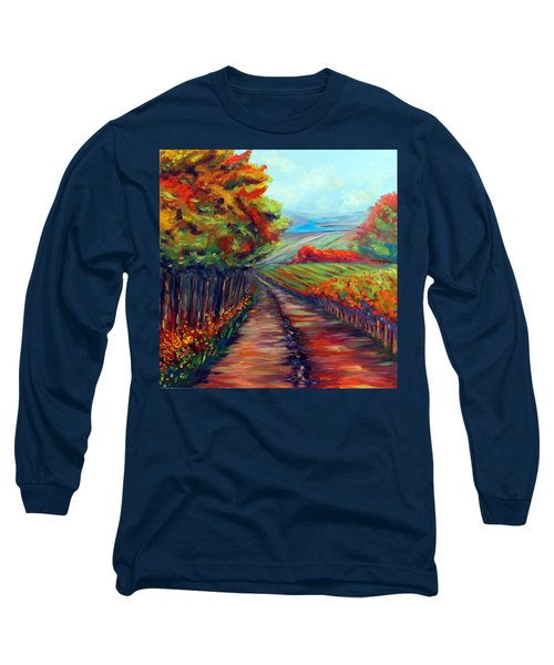 He Walks With Me Long Sleeve T-Shirt