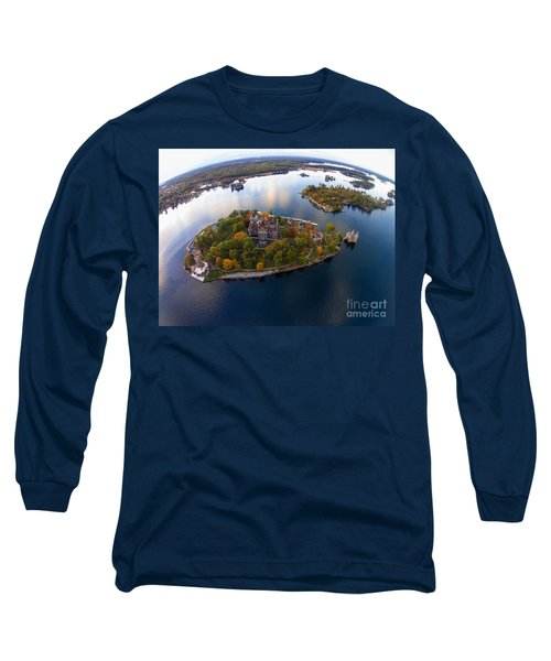 Heart Island George Boldt Castle Long Sleeve T-Shirt