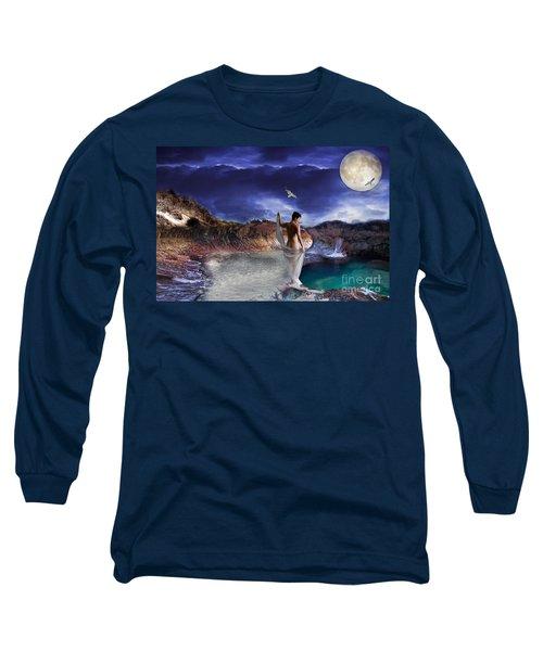 Hidden River Long Sleeve T-Shirt by Liane Wright