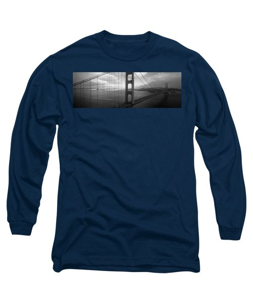High Angle View Of A Bridge Long Sleeve T-Shirt