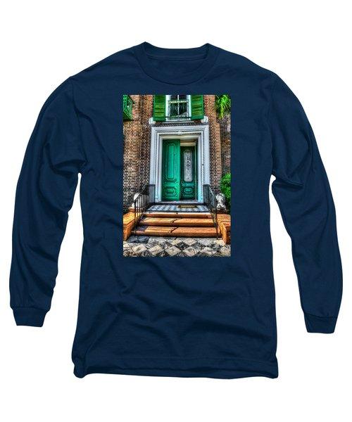 Historic Charleston Sc Door Long Sleeve T-Shirt