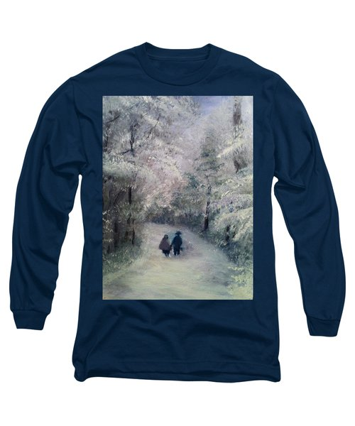 Hold My Hand Long Sleeve T-Shirt by Gail Kirtz