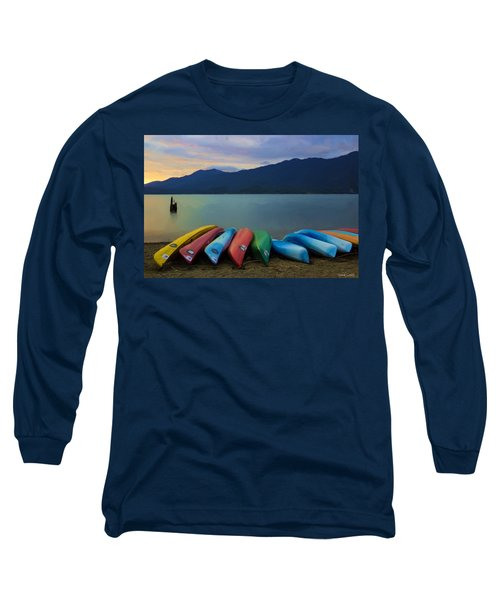 Holding On To Summer Long Sleeve T-Shirt