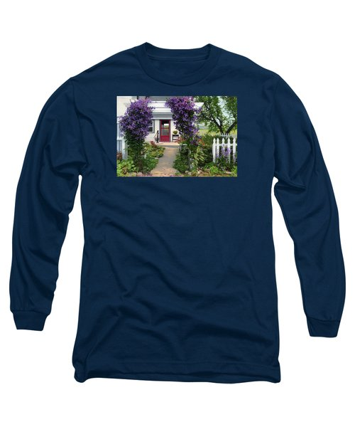 Home Long Sleeve T-Shirt by Bruce Morrison
