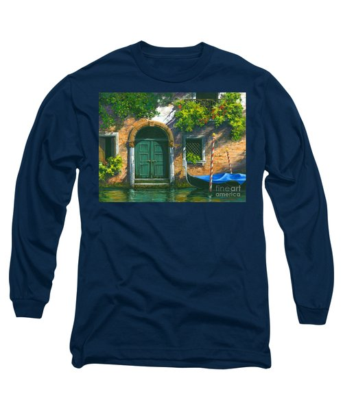 Long Sleeve T-Shirt featuring the painting Home Is Where The Heart Is by Michael Swanson
