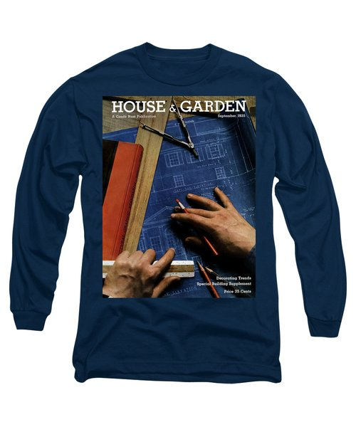 House And Garden Cover Of A Person Long Sleeve T-Shirt