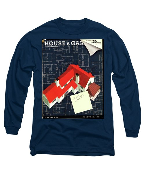 House And Garden Houses With Plans Cover Long Sleeve T-Shirt