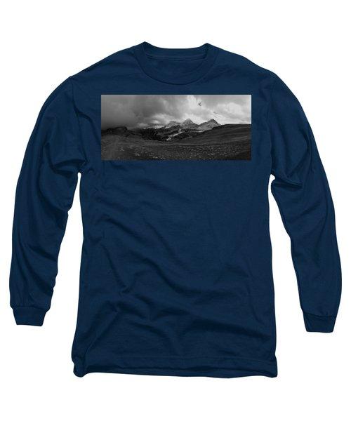 Hurricane Pass Storm Long Sleeve T-Shirt by Raymond Salani III