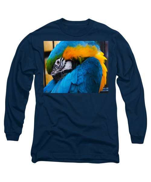 I Always Feel Like Somebody's Watching Me Long Sleeve T-Shirt by Robert L Jackson