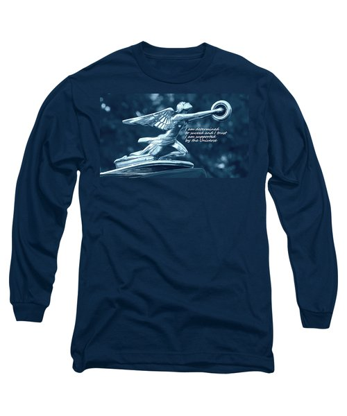 Long Sleeve T-Shirt featuring the photograph I Am Determined by Patrice Zinck