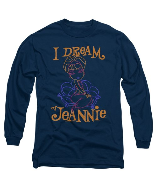 I Dream Of Jeannie - Paint Long Sleeve T-Shirt