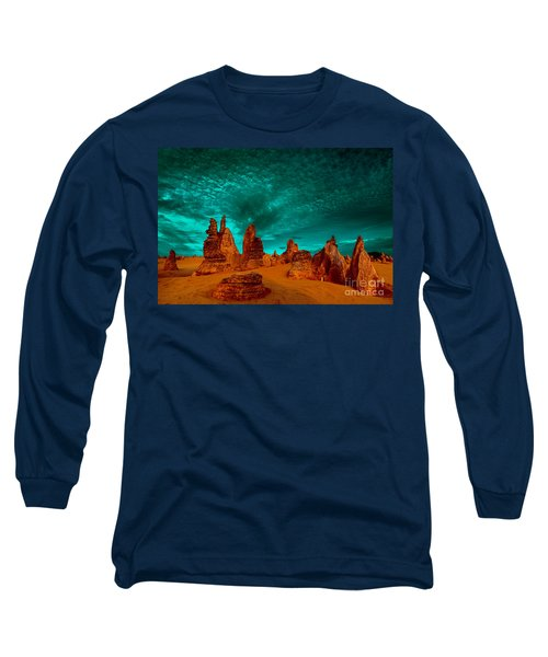In All Directions Long Sleeve T-Shirt