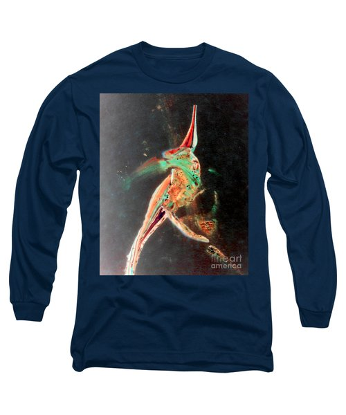 Long Sleeve T-Shirt featuring the painting In Jest by Jacqueline McReynolds