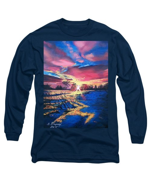 In The Still Of Dawn  Long Sleeve T-Shirt