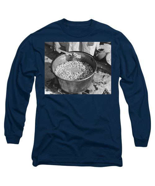 Indians Cooking Corn Long Sleeve T-Shirt