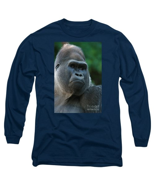 Long Sleeve T-Shirt featuring the photograph Indifference by Judy Whitton