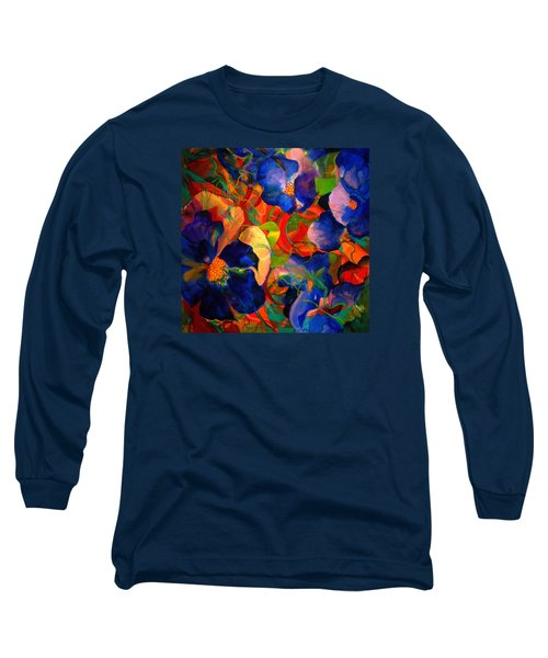 Long Sleeve T-Shirt featuring the painting Inner Fire by Georg Douglas