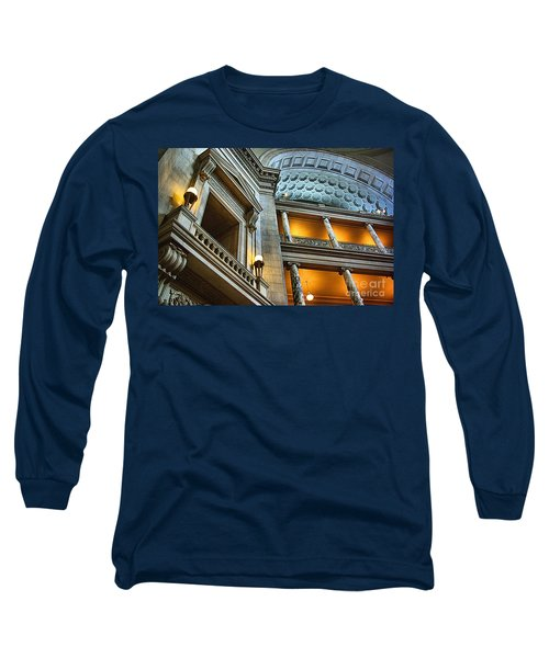 Inside The Natural History Museum  Long Sleeve T-Shirt by John S