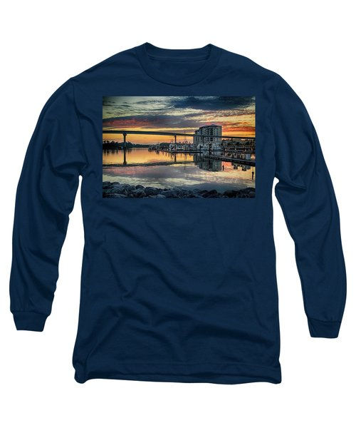 Intercoastal Waterway And The Wharf Long Sleeve T-Shirt