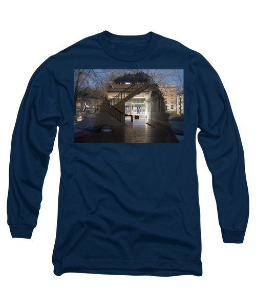 Interior Reflection Long Sleeve T-Shirt by Melinda Fawver