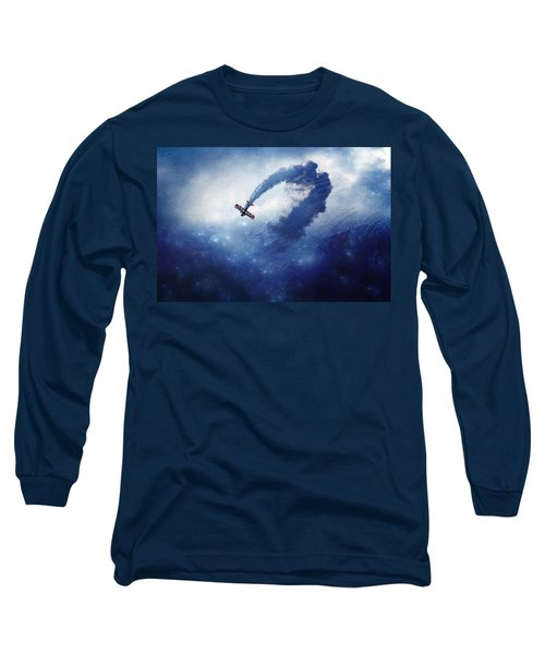 Into The Unknown Long Sleeve T-Shirt by Ellen Heaverlo