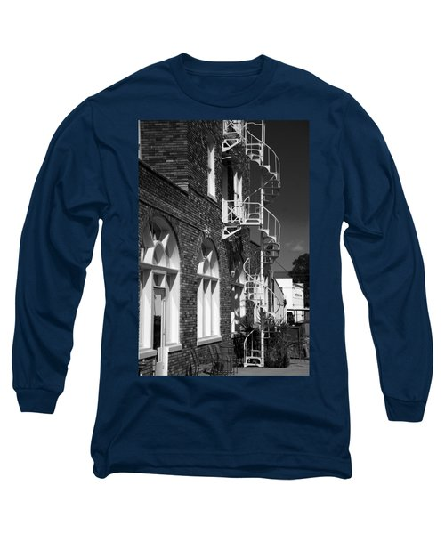 Jacaranda Hotel Fire Escape Long Sleeve T-Shirt