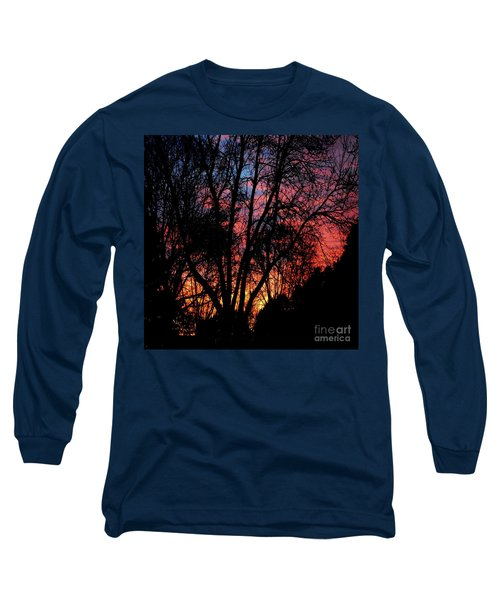 Long Sleeve T-Shirt featuring the photograph January Dawn by Luther Fine Art
