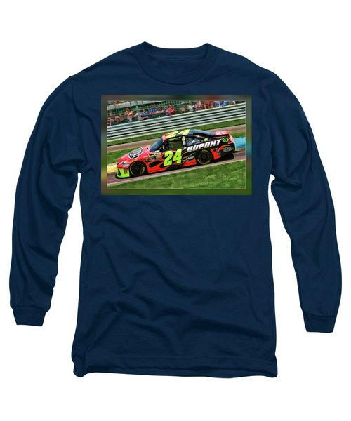 Jeff Gordon Long Sleeve T-Shirt