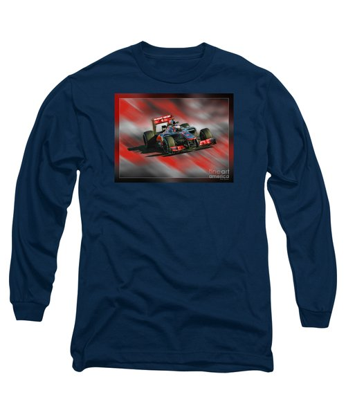 Jenson Button  Long Sleeve T-Shirt