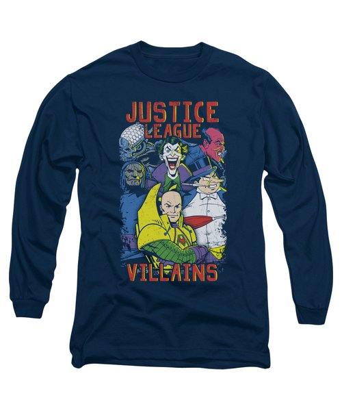 Jla - Justice For America Long Sleeve T-Shirt