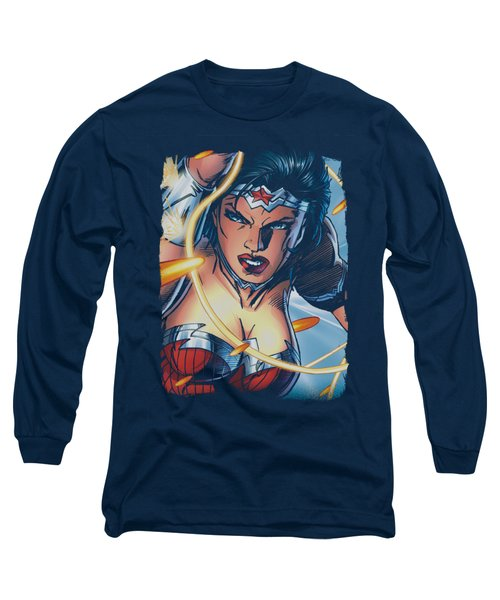 Jla - Scowl Long Sleeve T-Shirt