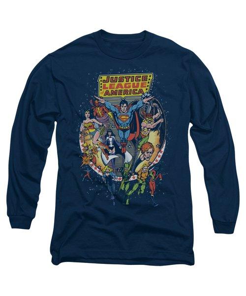 Jla - Star Group Long Sleeve T-Shirt