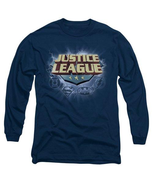 Jla - Storm Logo Long Sleeve T-Shirt