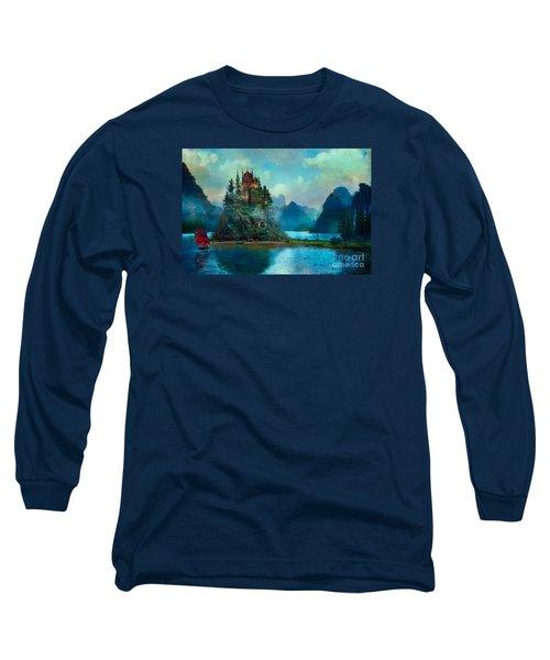 Journeys End Long Sleeve T-Shirt by Aimee Stewart