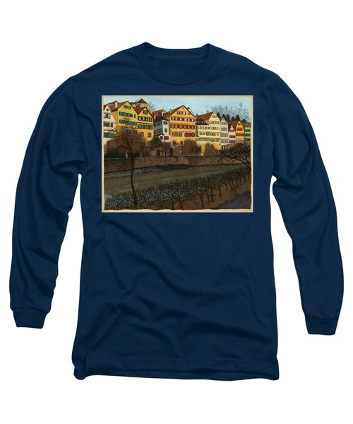Judith's Walk Long Sleeve T-Shirt by Meg Shearer