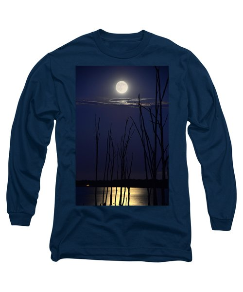 July 2014 Super Moon Long Sleeve T-Shirt