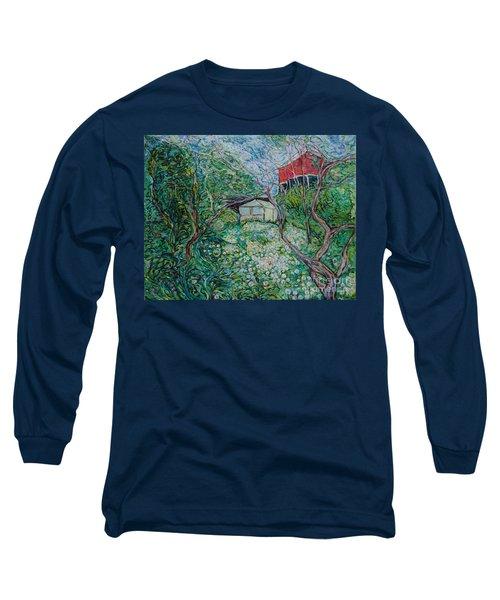 June Long Sleeve T-Shirt by Anna Yurasovsky