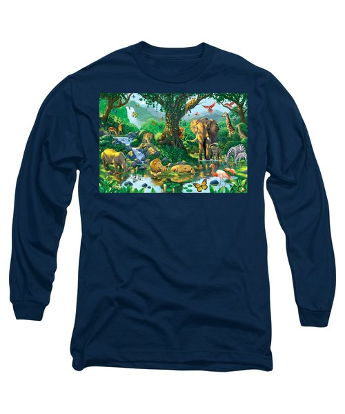 Jungle Harmony Long Sleeve T-Shirt