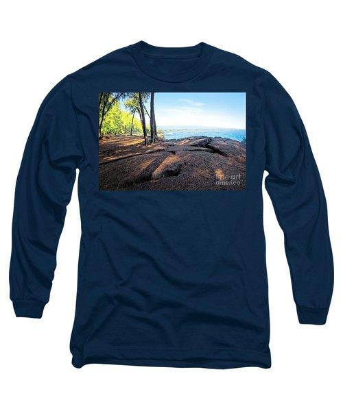 Long Sleeve T-Shirt featuring the photograph Kaloli Point 3 by Ellen Cotton