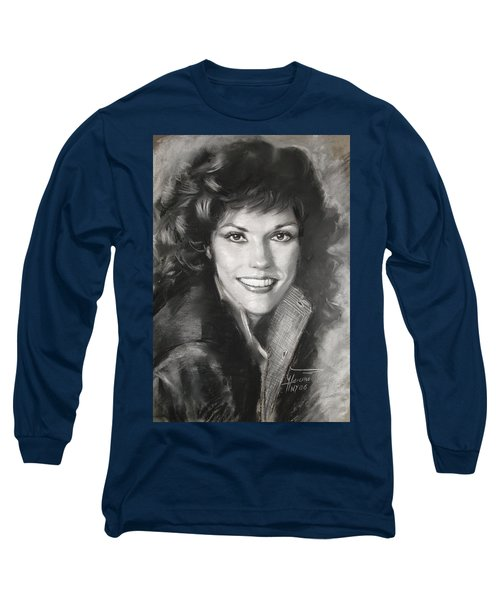 Karen Carpenter Long Sleeve T-Shirt by Viola El