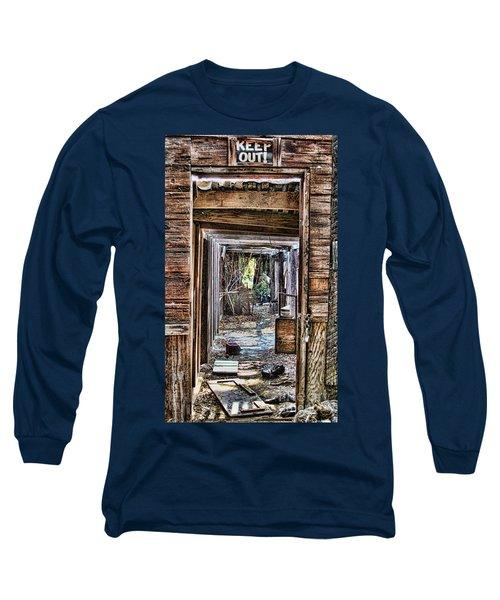 Keep Out By Diana Sainz Long Sleeve T-Shirt
